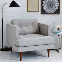 West Elm Crosby Chair Baby Trend High Cover Designer Love Armchair Quick Peggy Mid Century Armc By 849