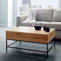 Industrial Storage Coffee Table | west elm