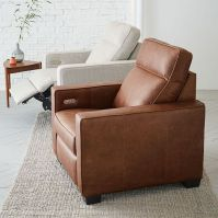 Henry Leather Power Recliner Chair | west elm