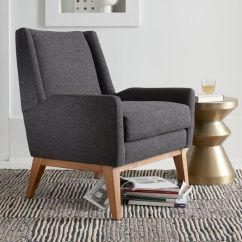 West Elm Everett Chair Big Man Chairs Designer Love Luster Velvet Frankie By 449