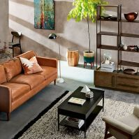 Metalwork Coffee Table - Hot-Rolled Steel Finish | west elm