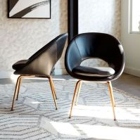 Orb Leather Dining Chair | west elm