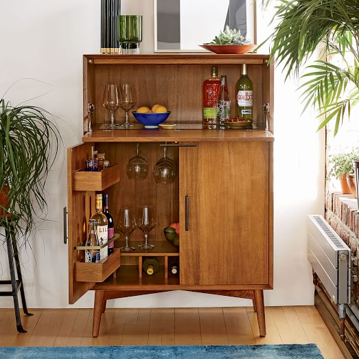 Mid Century Bar Cabinetmid Century Bar Cabinet Home Decor