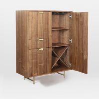 Walter Bar Cabinet | west elm