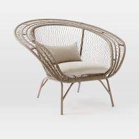 Montauk Nest Chair - Antique Palm | west elm