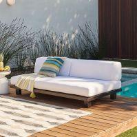 Tillary Outdoor Sofa   west elm