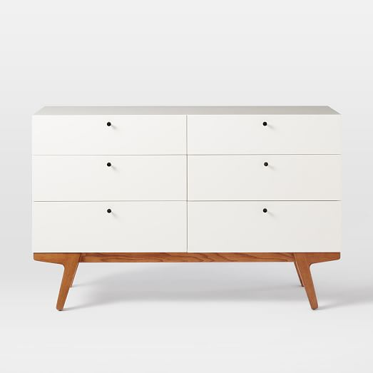 Modern 6Drawer Dresser  west elm