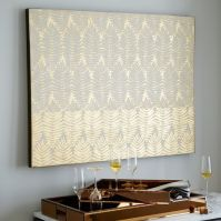Gilded Fern Wall Art | west elm