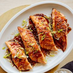 Calphalon Kitchen Essentials Chicken Decor For Sous Vide Salmon Teriyaki   Williams-sonoma