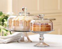 Glass Domed Cake Plate/Punch Bowl | Williams-Sonoma