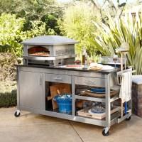 Kalamazoo Artisan Fire Outdoor Pizza Oven & Pizza Station ...