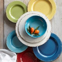 Rustic Melamine Dinnerware Collection | Williams Sonoma