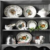 Plymouth Turkey Dinnerware Collection | Williams Sonoma