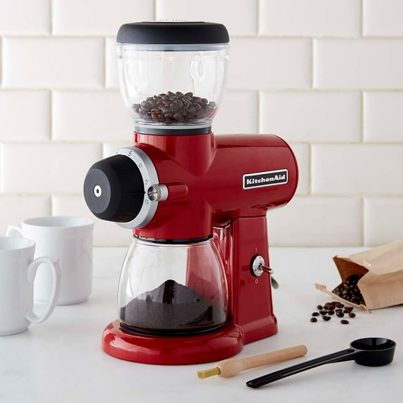 Kitchenaid® Burr Coffee Grinder  Williams Sonoma