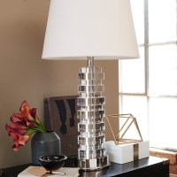 Alina Crystal Table Lamp | Williams Sonoma