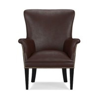 Michelle Leather Chair | Williams Sonoma