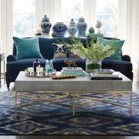 Faux Shagreen Coffee Table | Williams Sonoma