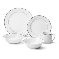Apilco Tradition Grey Banded Dinnerware Collection ...