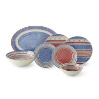Americana Melamine Dinnerware Collection