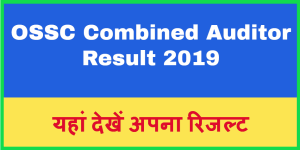 OSSC Combined Auditor Result 2019