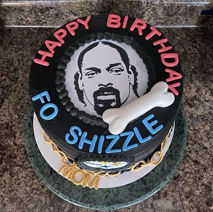 Snoop Dogg Happy Birthday Wishes Message Greeting Meme Cake