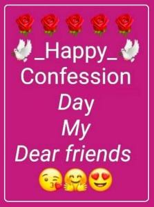Confession Day Whatsapp DP Wallpaper FB Profile Pictures Cover Photo