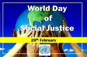 Famous World Day of Social Justice Whatsapp DP Status Wallpaper images