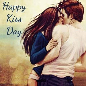 Happy Kiss Day images Animated For Best Friend