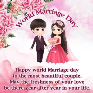 Happy World Marriage Day images Wishes Photo Pictures
