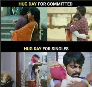 Hug Day Funny Memes Pictures images