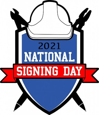 National Signing Day Logo Poster HD images Pics 2021