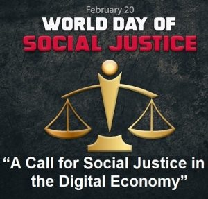New World Day of Social Justice Facebook Profile Picture Cover Photo Stories