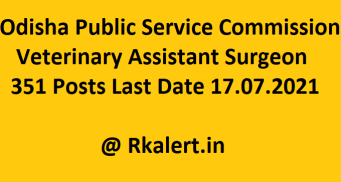 OPSC Veterinary Assistant Surgeon Online Form