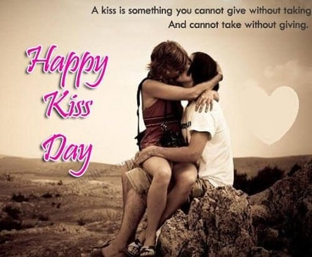 Status For Kiss Day on Whatsapp Instagram Facebook