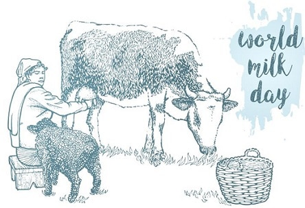 Latest World Milk Day Drawing Painting World Milk Day Poster Banner Pic