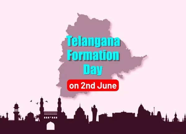 Telangana Formation Day images in English Telangana Formation Day Whatsapp Status