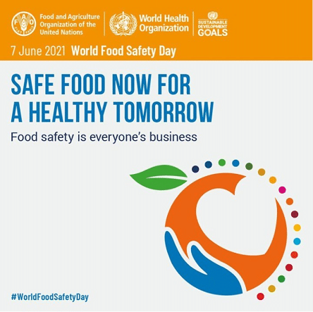 World Food Safety Day Theme 2021 images Photo For Social Media FB Twitter Instagram