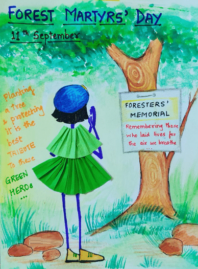 National Forest Martyrs Day Drawing Painting Pictures