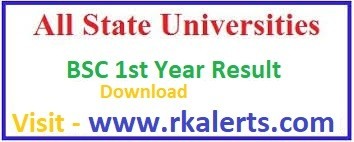 BSC 1st Year Result 2021
