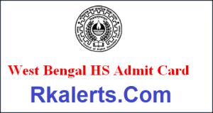 West Bengal HS Admit Card 2021