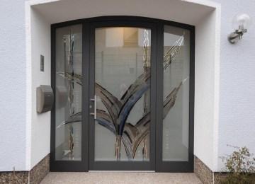 Design Aus Glas Rezeption Bilder | Vordach Hauseingang Glasvordach ...