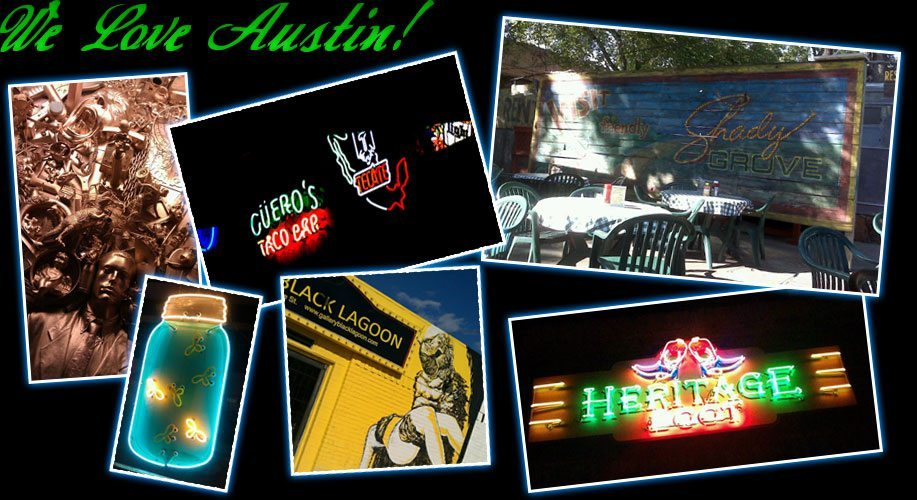 We love Austin