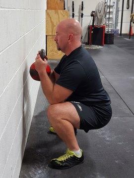 Michael Krivka goblet squat