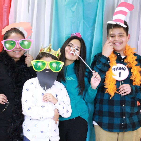 Literacy Festival Photo Booth