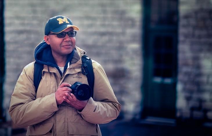 Photographer Calvin James