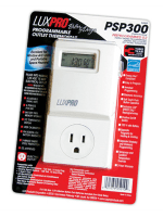 LuxPro Programmable Outlet Thermostat