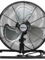 Hurricane Pro Metal Floor Fan – 12in