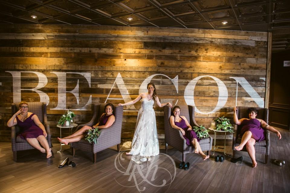 Pop Culture Wedding bridal party