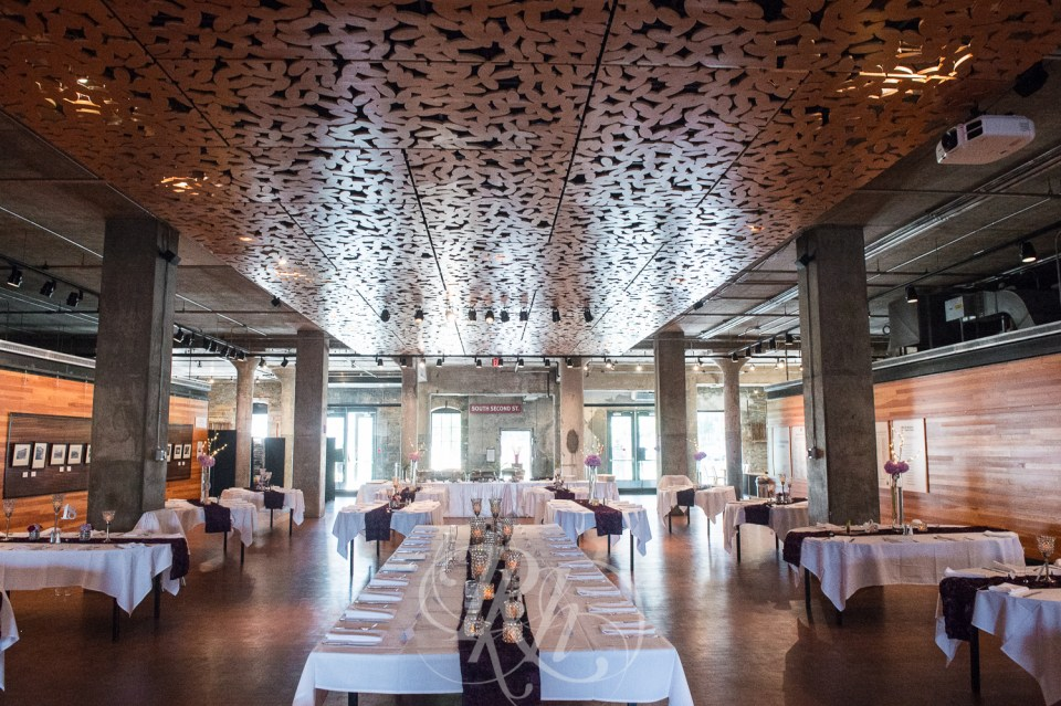 Mill City Museum wedding reception