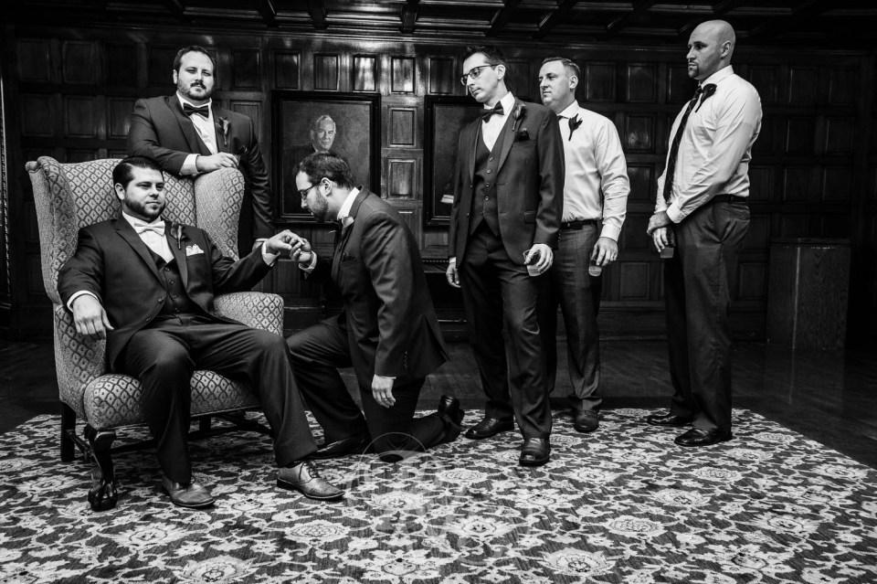 The Godfather wedding photo